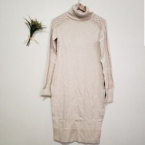 MODA INTERNATIONAL turtle neck sweater dress